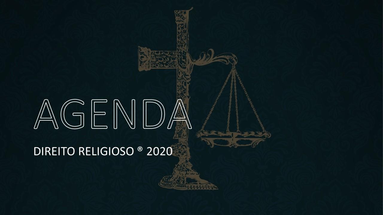 AGENDA 2020 | DIREITO RELIGIOSO | TR VIEIRA E JEAN REGINA