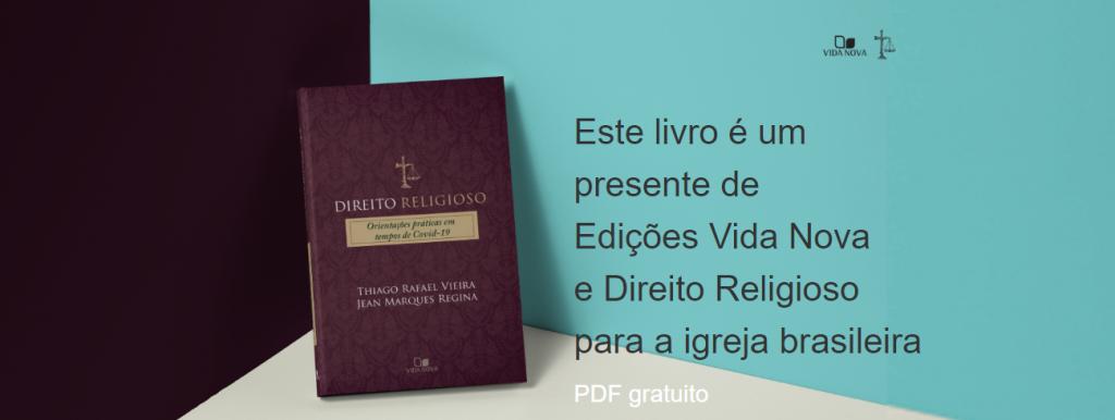 LANÇAMENTO: Direito Religioso   Orientações Práticas em Tempos de COVID-19